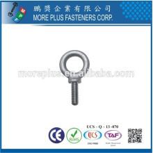 Hecho en Taiwán Alta calidad de aluminio M4 pequeños tornillos de ojo