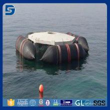 airbag marinho de flutuação e de levantamento do barco