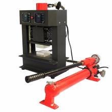 Plaques de chauffage double hydraulique de 20 tonnes Machine de presse à la résine