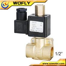 Brass air 220 volt solenoid valve
