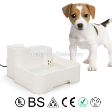 New Pet Feeder Automatic Water Dispenser Fountain Food Dish Bowl Waterer Dog Cat