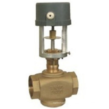 Solenoid Brass Ball Valve Two Ways Motorized Control Valves