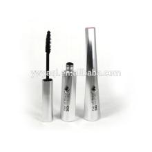 OEM!!! Imperméable à l'eau mascara longue durée naturelle de lash de fibre tube argent