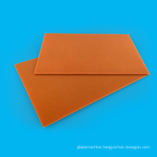 Electric Black/Orange Phenolic Paper Laminated Sheet