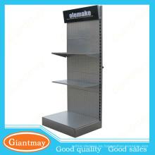 Venta al por mayor herramienta de hardware de Giantmay metal piso exhibir estantes perforados