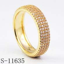 Nuevo anillo de joyería de moda de diseño 925 de plata (S-11635)