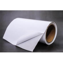 Self Adhesive Cast Coated Paper with white glassine