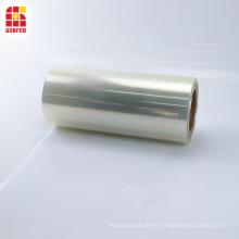 Película de plástico de sellado térmico transparente BOPP de 50 micras
