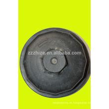 venta caliente 13061607 weichai cubierta de filtro de aceite para camión