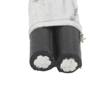 2*16mm2 abc duplex cable aerial bunched cable china manufacturer