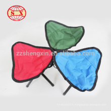 Fournisseur de chaises de camping pliant en toile direct