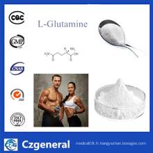 Poudre stéroïde crue L-Glutamine CAS 56-85-9 pour le supplément de nutrition de sport