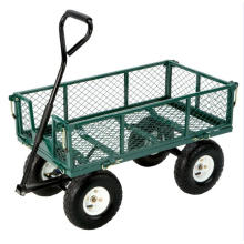 Garden Steel Yard Trolley Wagon
