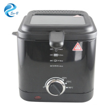 2017 OEM Popular 1.5L para uso doméstico em alumínio, mini cozinha, fritadeira elétrica de frango