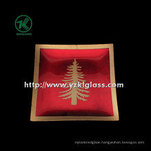 Single Wall Color Glass Plate by SGS (KLP90718-1)