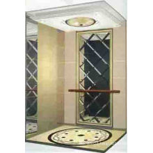 Traction machine room less luxury elevator