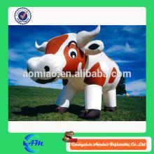 Gigante bonito vaca inflável para venda