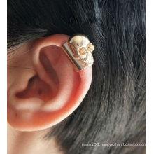 Skull Head Ear Cuff Individual Ear Clip Earrings Jewelry Cuff Earrings EC40