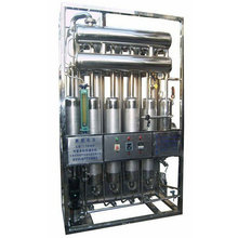 our factory make and export LD500-5 Multi-effect stainless steel water distiller machine
