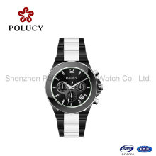 Мужская мода тенденция дизайн Кварцевые керамические часы с дешевой цене пользовательские цвета смотреть