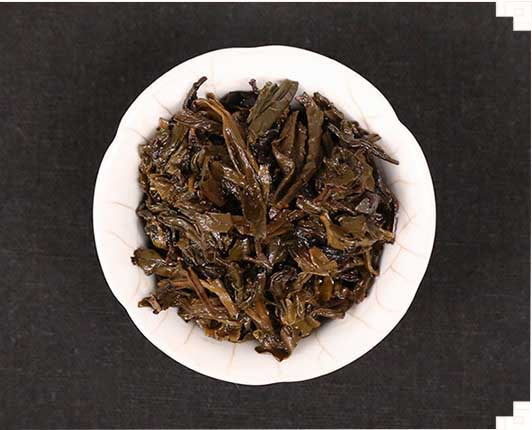 dark tea leaf