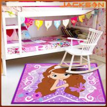 China A máquina da fábrica do tapete adornou o tapete das crianças, rosa das meninas amacia o tapete
