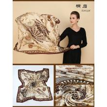 SA429 100% seda logotipo impressão lenço de seda 100% seda hijab xale e scarvessupplier alibaba china