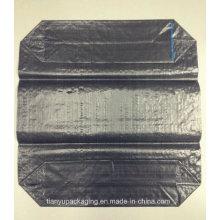 Sac en plastique à soupape en tissu PP pour carbure de silicium