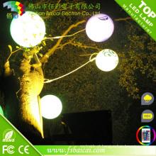 Controle Remoto LED bola luz com mudança de cor