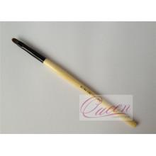 Wooden Handle Nylon Hair Lips Makeup Brush