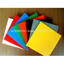 Multi-color corrugated PP Sheet