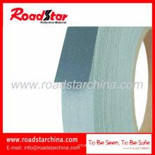 Серебристо серый Светоотражающий T/C ткани ткани