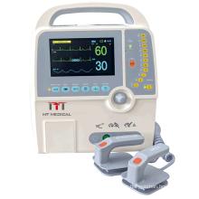 Hospital protable e Medical ecg automated external  defibrillator monitor machine