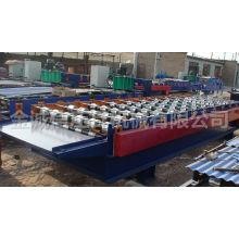 Cor aço corrugatedroll formando máquina / telhas metálicas / telhado formando máquina