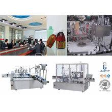 Автоматическое оборудование для розлива жидкостей Машина для бутылочной крышки 30-40bottles / Min 10-500 мл