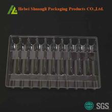 Thermoforming Kunststoff klar Vials Tray