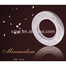Fashion Garment Eyelets And Grommets Plastic Curtain Rings Eyelets