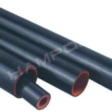 Tuyau à double paroi avec tuyau semi-conducteur à l'extérieur de la gaine thermorétractable de la gaine thermorétractable shrink