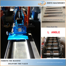 Stahl L Winkel Kaltumformung Maschinen / Metall Wand Eckprofile Herstellung Maschine
