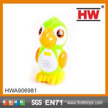 Good quality BO flash parrot animal toy