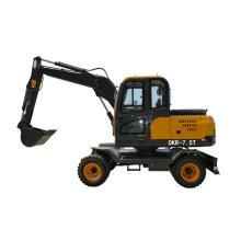 2.2 ตัน Crawler 8t Auger Digging Machine ใหม่ 1.6 ตัน Mini Excavator