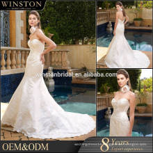 New Fashionable Special Design puffy wedding dress