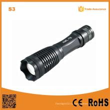 18650 Перезаряжаемый телескопический фонарик высокой мощности CREE Xm-L T6 (POPPAS-S3)
