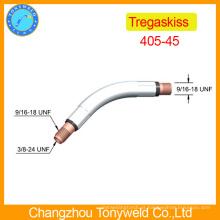 Peças de soldagem a gás Tregaskiss 405-45 pescoço de cisalhamento de soldagem