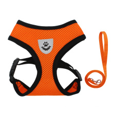Amazon dog vest style mesh breathable chest harness traction rope