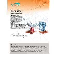 Venta caliente GMP Certificado Alfa-gpc 85% líquido 99% forma de polvo