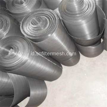Layar Mesh Filter Stainless Steel Bulat