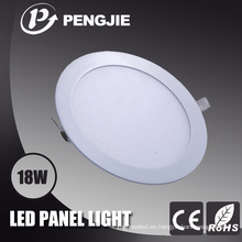 Lámpara de techo LED de 18W con CE (Redonda)