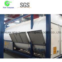 Вертикальный тип Vn Серия LNG Криогенный резервуар под давлением