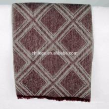 Écharpe écharpe en laine jacquard